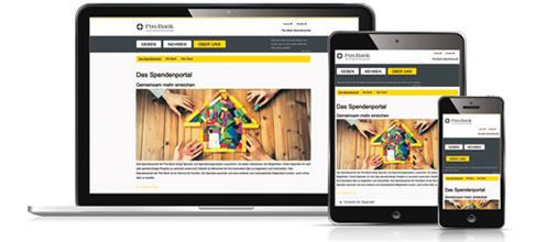 Neues Portal: www.pax-bank.de/wirmachenmit Foto: dreipunktdrei